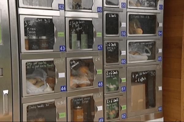 Les produits sont accessibles 24h/24 tous les jours de la semaine.