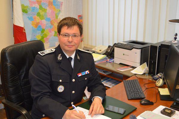 François Angelini directeur de la DDSP d'Ille-et-Vilaine