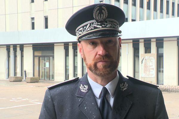 Yves Cellier, directeur départemental de la police du Doubs