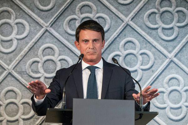 Manuel Valls à Barcelone - septembre 2018.