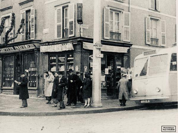 avenue Garibaldi à Limoges en 1942