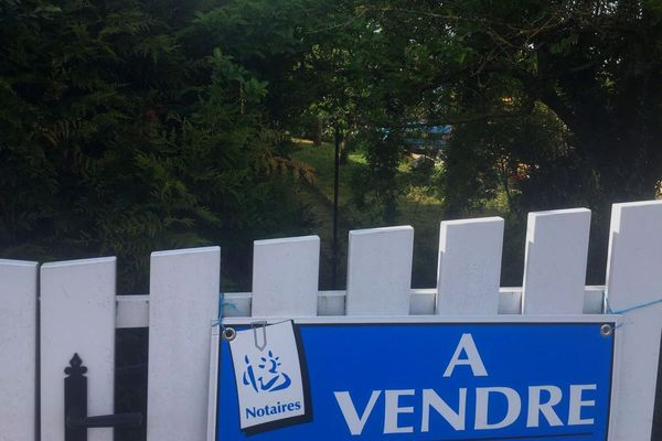 "Un jardin ""à vendre""..."