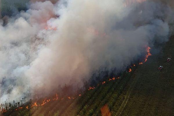 Les flammes ont ravagé une vingtaine d'hectares