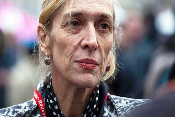 La chorégraphe Mathilde Monnier - archives