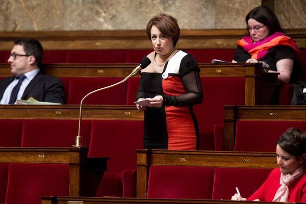 La députée du Calvados Isabelle Attard