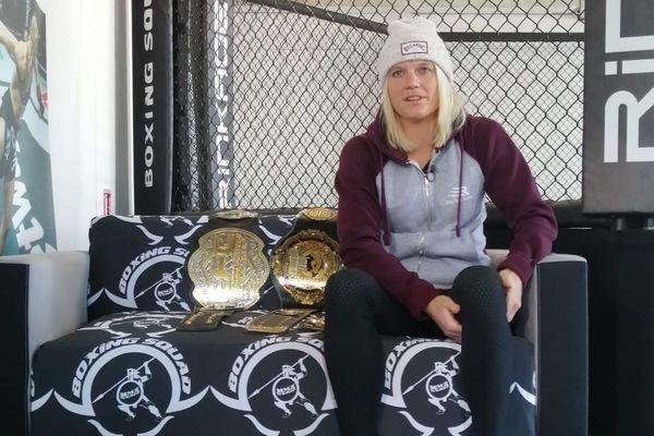 La niçoise Manon Fiorot détient deux titres mondiaux de MMA, elle est en route pour décrocher son troisième titre.
