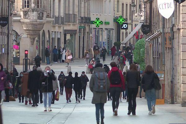 La rue de la Liberté à Dijon (image d'illustration)
