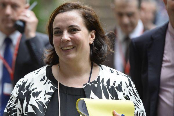 La ministre du logement Emmanuelle Cosse au Congrès de l'Union Sociale pour l'Habitat à Nantes.