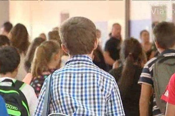 14/10/14 - Onze cas de gale signalés au collège Arthur-Giovoni à Ajaccio
