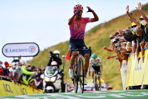 Daniel Martinez est arrivé en tête de cette 13ème étape du Tour de France entre Châtel-Guyon et le puy Mary vendredi 11 septembre.