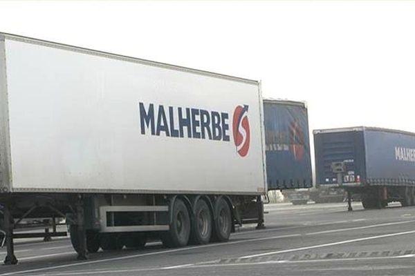 Malherbe est aujourd'hui le troisième transporteur français. la société basée à Rots emploie plus de 1300 personnes.