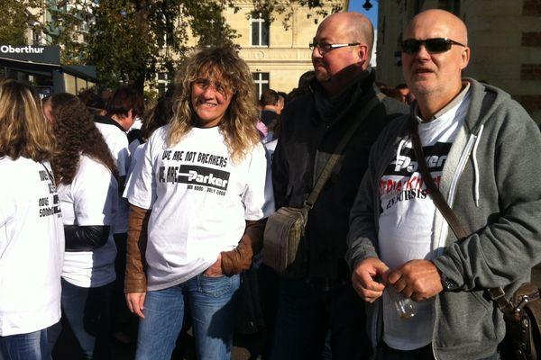 Les salariés de Parker France ont débrayé ce lundi à Rennes