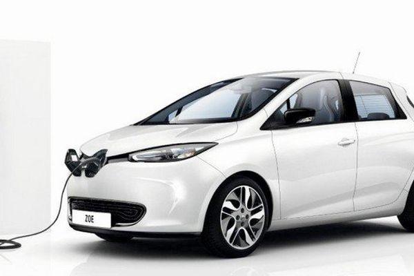 La Renault Zoé est alimentée grâce à une technologie de Legrand.