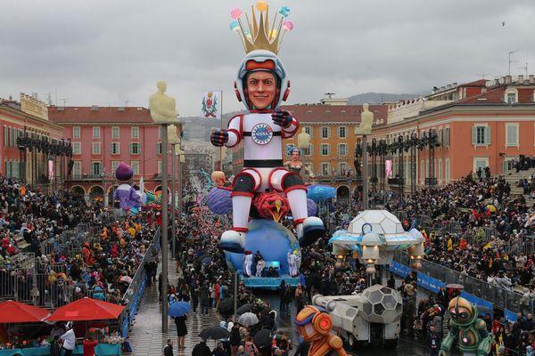 Le Roi de l'espace a fait son entrée dans sa bonne ville de Nice le 17 février dernier.