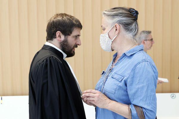 Irène Frachon le 24 juin 2020 au Palais de justice de Paris