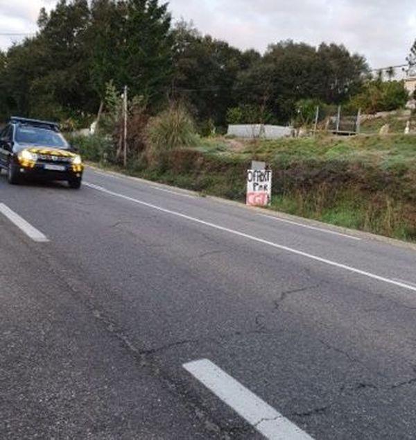 Un radar dont l'électricité a été coupée dans la nuit de mercredi par la CGT Energie de Corse.