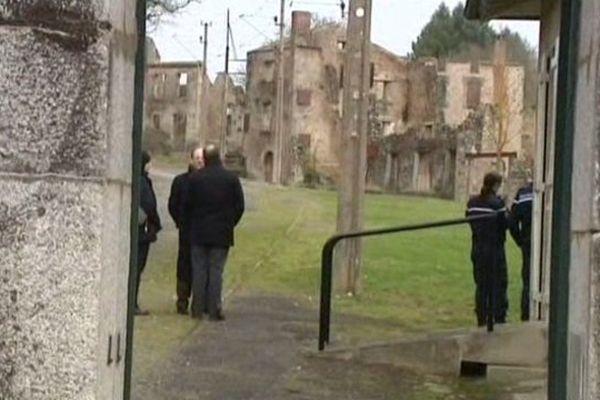 Les enquêteurs allemands  de Dortmund se sont rendus à Oradour/Glane en janvier et mars 2013