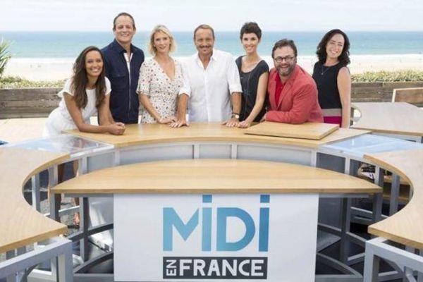 Toute l'équipe de Midi en France autour de Vincent Ferniot.