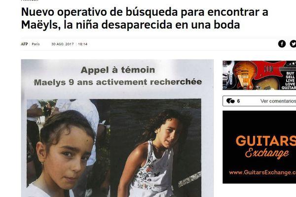 Le journal espagnol El Mundo
