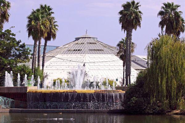 Serre du parc Phoenix.