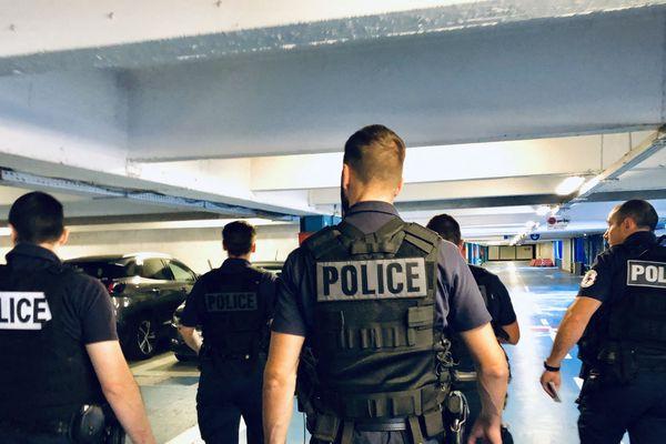 Photo d'illustration de la police à Grenoble.