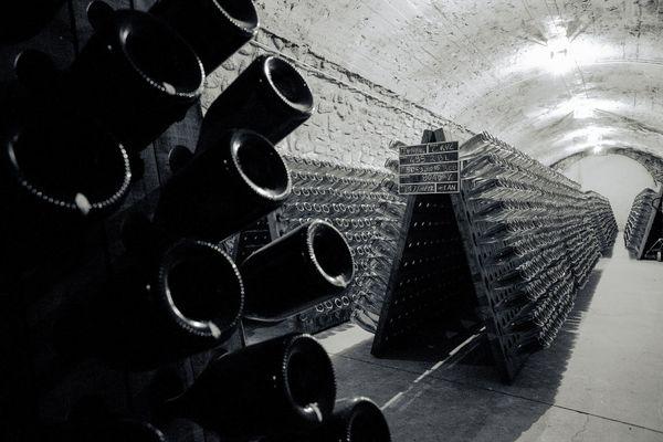 Parmi les pupitres des champagnes Castelnau