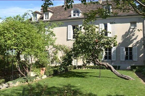 Le jardin du musée Montmartre, à Paris.