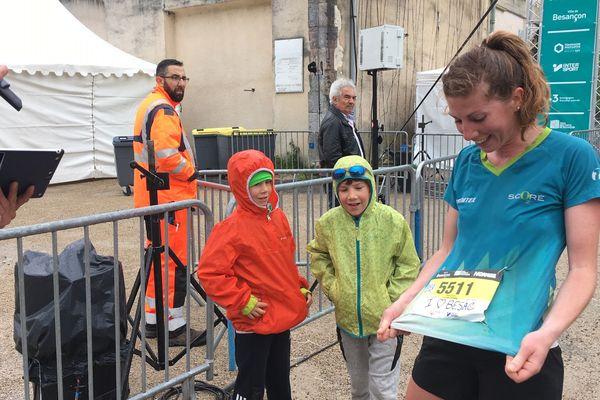 3e féminine du jour, Delphine Monnier Benoit sur le 10 kilomètres