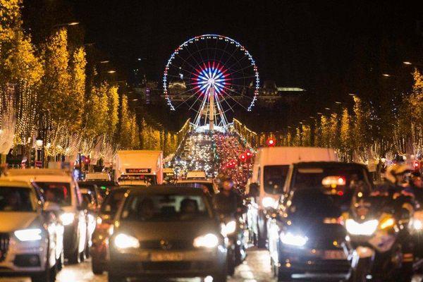La Grande roue de Paris, le 21 novembre 2016.