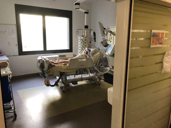 Un malade de la COVID19 pris en charge au service réanimation du CHU de Toulouse-Purpan.