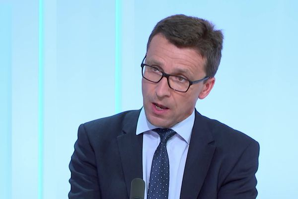 Jérôme Dumont, le nouveau président du conseil départemental de la Meuse