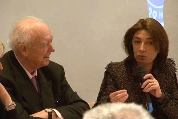 Jean-Claude Gaudin et Martine Vassal.