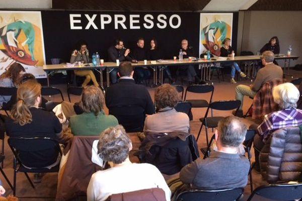 Au Festival International du Court Métrage de Clermont-Ferrand, la journée débute par un Expresso