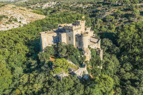 Sur le site du château de la Barben, un parc naturel et provençal va ouvrir en mai 2021.