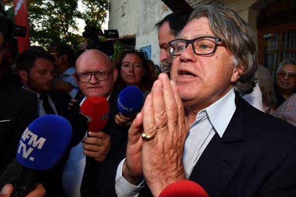 Gilbert Collard, député FN du Gard