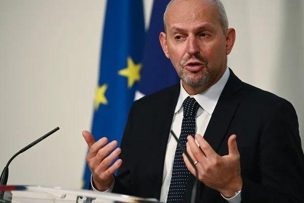 Le directeur général de la santé, Jérôme Salomon © AFP - Christophe ARCHAMBAULT