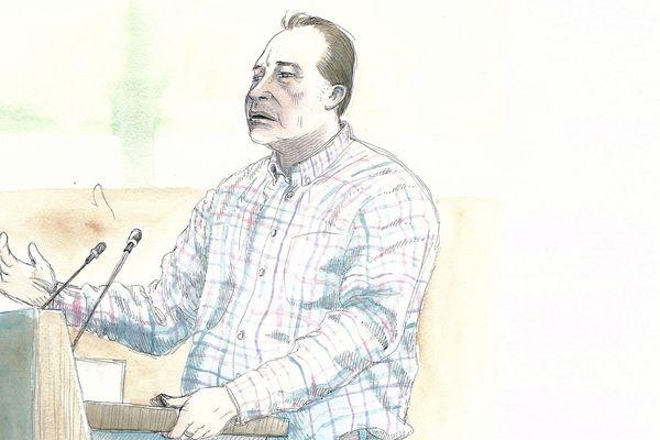 René Bardon, frère de l'accusé Willy Bardon dans l'affaire Elodie Kulik, le 21/11/2019