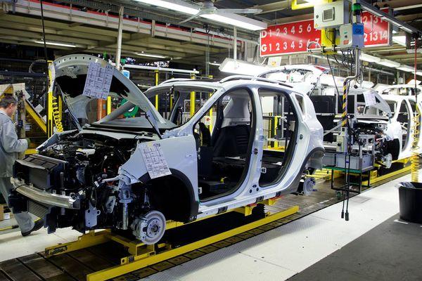 L'usine Renault à Douai.