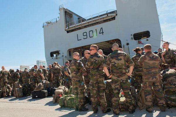 Le navire Tonnerre quitte Toulon ce vendredi pour rejoindre le Liban
