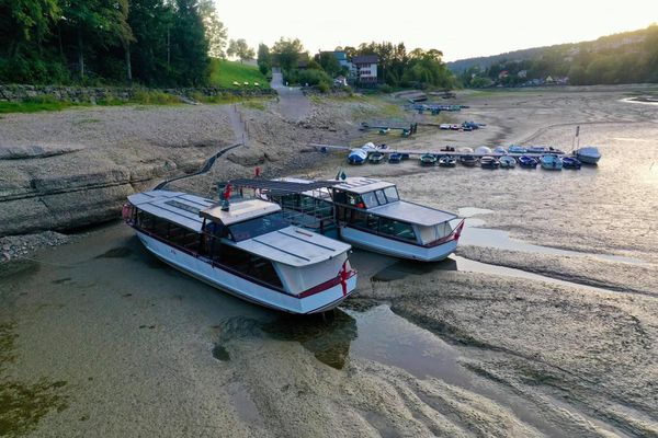 La sécheresse a mis à l'arrêt les activités nautiques.