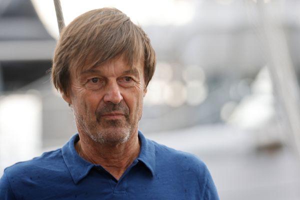 Nicolas Hulot à Marseille le 3 septembre 2021.