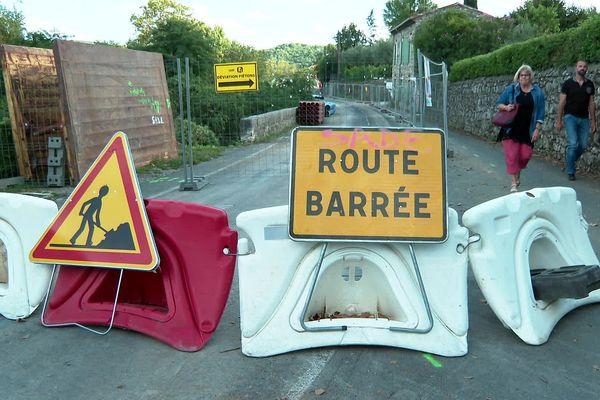 Cazilhac (Hérault) - jusqu'en 2022, le trajet Ganges-Cazilhac passe de 1 à 19km à cause de travaux, les secours sont inquiets - 20 septembre 2021.