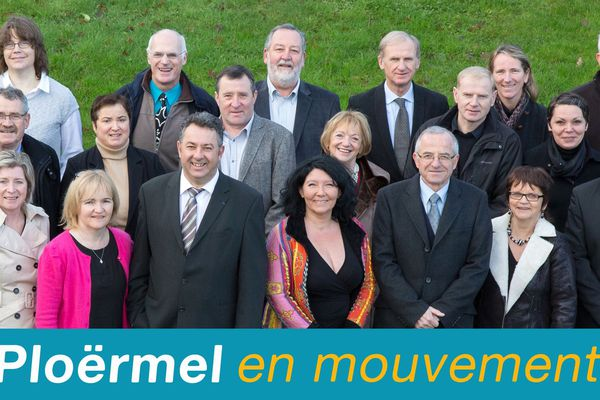 Patrick Le Diffon (UMP) remporte les municipales 2014, à Ploërmel (56).