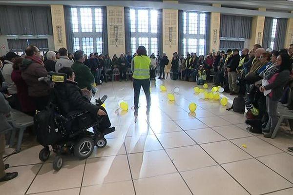"""Les """"gilets jaunes"""" de la région de Toulouse organisaient ce dimanche leur assemblée citoyenne hebdomadaire."""