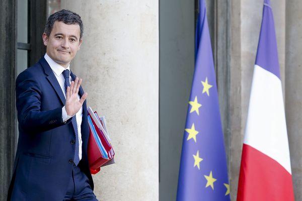 Gérald Darmanin, à la sortie du conseil des ministres le 30 janvier 2019.