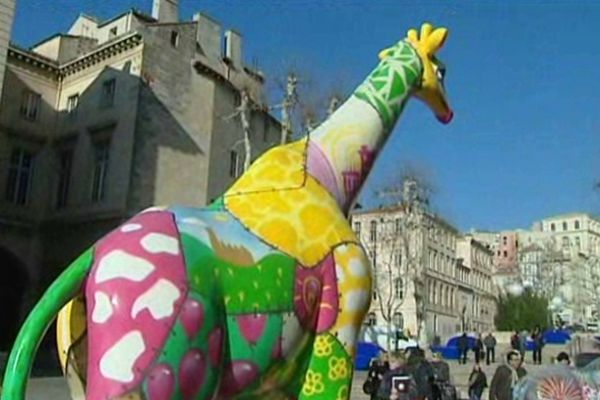 La girafe de Funny Z'animaux