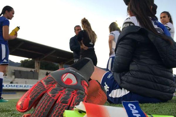Coupe de Corse de Foot Féminin, le 30 mai dernier à Bastia.