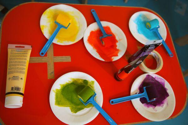 Cinq couleurs autorisées