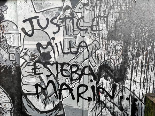 La fresque en hommage à Steve Caniço dégradée dans la nuit du 17 au 18 février 2020