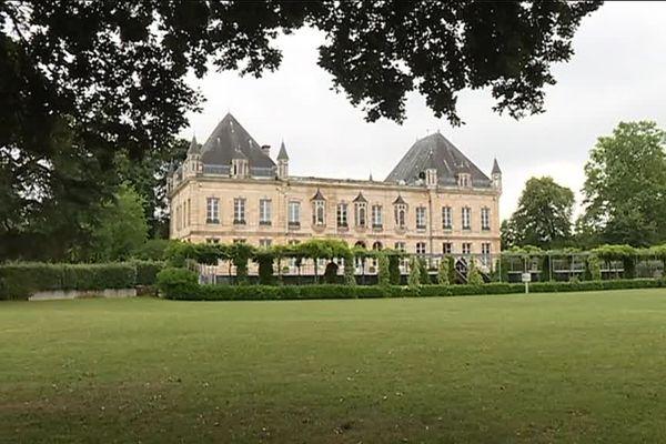 Le château du Haillan, siège des Girondins de Bordeaux.